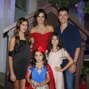 Rodrigo Faro e a mulher, Vera Viel, festejam 5 anos da caçula, Helena. Fotos!