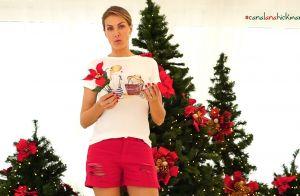 Ana Hickmann ostenta quatro árvores de Natal em sua sala: 'Casa do Papai Noel'