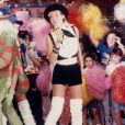 Além da semelhança física, o estilo de Cécile Laureen tem tudo a ver com o de Xuxa Meneghel nos anos 80