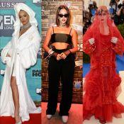 Roupão, luvas, véu vermelho e mais: veja os 20 looks mais marcantes de 2017!