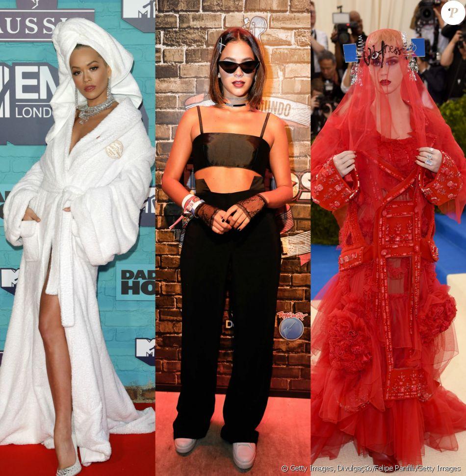 e0656d6073b22 Rita Ora, Bruna Marquezine e Katy Perry protagonizaram produções marcantes  em 2017. Veja mais