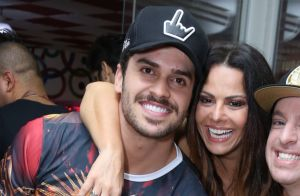Viviane Araujo comenta foto de namorado com personal: 'Vai deixar mais lindo?'