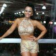 Viviane Araujo negou que esteja morando com o namorado, Kainan Ferraz