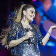 Festeja contou com a apresentação da atriz Juliana Paes. Evento foi transmitido na TV Globo, nesta quarta-feira, 20 de dezembro de 2017
