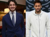 Alexandre Pato surge platinado e Neymar implica com visual: 'Cabelo ridículo'