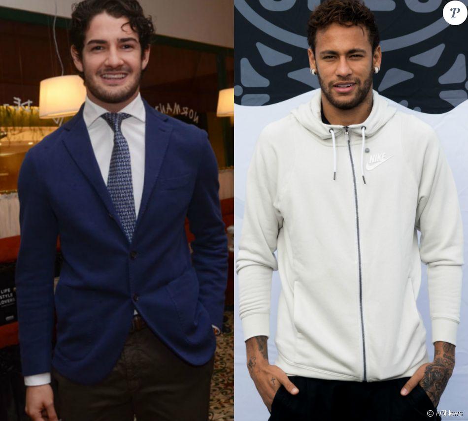 Alexandre Pato surge platinado e Neymar zoa novo visual do jogador. Veja  abaixo! 5f57f51bb8a