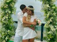 Arthur Aguiar tem casamento surpresa com Mayra Cardi na casa dela. Fotos!