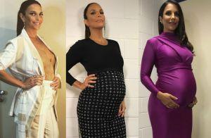 Grávida estilosa: veja os looks usados por Ivete Sangalo na gestação de gêmeas
