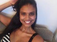 Aline Dias comemora perda de medidas após gravidez:'Voltei a usar minhas roupas'