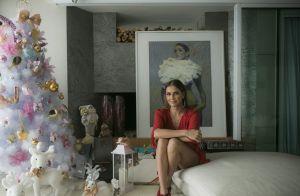 Deborah Secco mostra decoração de sua casa pro Natal e deseja: 'Mais um filho'