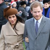Noiva de Príncipe Harry, Meghan Markle esbanja simpatia em seu 1º Natal Real