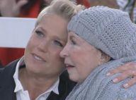 Xuxa vibra com momento de lazer da mãe, Alda, de 80 anos: 'Entrou na piscina'