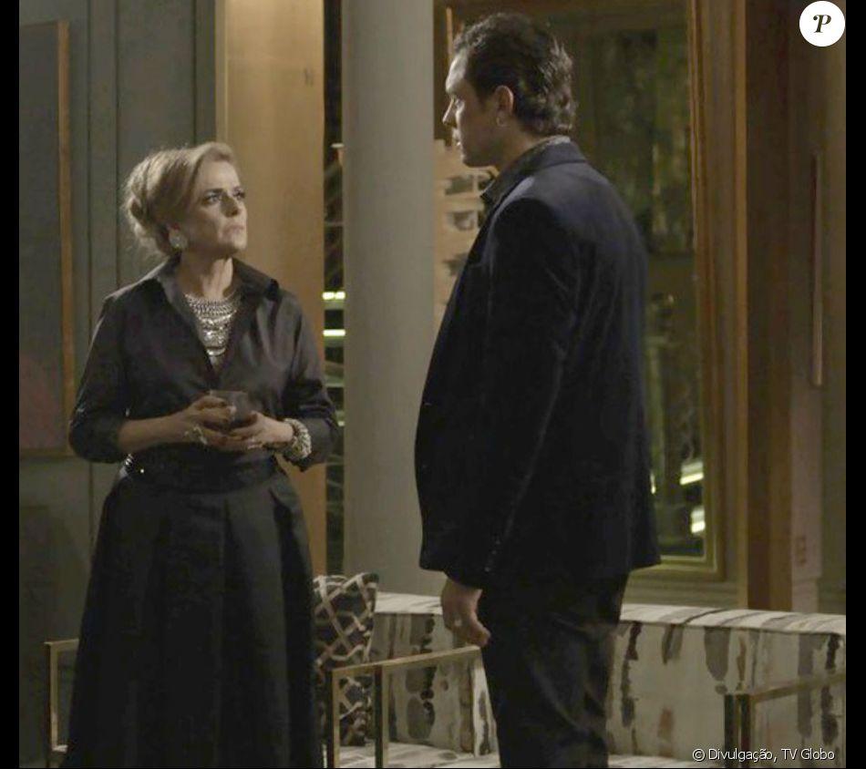 Gael (Sergio Guizé) enfrenta Sophia (Marieta Severo) para ficar ao lado de Clara (Bianca Bin) na novela 'O Outro Lado do Paraíso'
