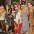 'Natal, tempo de agradecer e celebrar', escreveu Karina Bacchi
