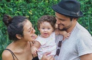 Bruno Gissoni mostra Yanna Lavigne e filha em foto: 'Amor em comum, incomum'