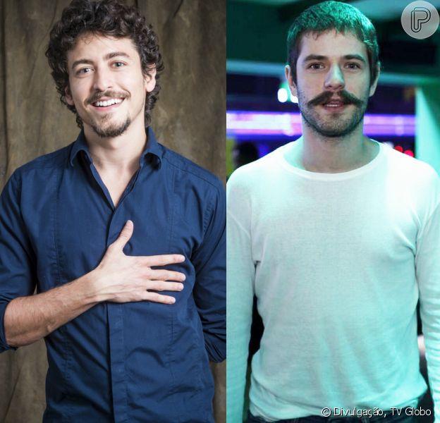 """Maurício Destri e Jesuíta Barbosa são um casal homossexual e dão beijo no clipe """"Flutua"""", de Johnny Hooker"""