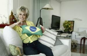 Ana Maria Braga abre as portas de sua casa e mostra decoração para Copa do Mundo