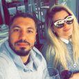 Aline Gostchalg e Fernando Medeiros se conheceram no 'Big Brother Brasil 15'