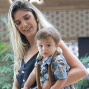 Rafa Brites festeja 1º Réveillon com o filho, Rocco: 'Meia-noite vou acordá-lo'