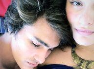 Em meio a rumor de namoro, Bruno Montaleone posa abraçado a Sasha Meneghel