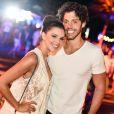 Mariana Rios posa com novo namorado, Rômolo Holsback, em festa no RN na madrugada deste domingo, dia 31 de dezembro de 2017