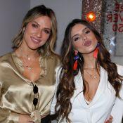 Giovanna Ewbank dá selinho na ex-cunhada, Giovanna Lancellotti: 'Só love'