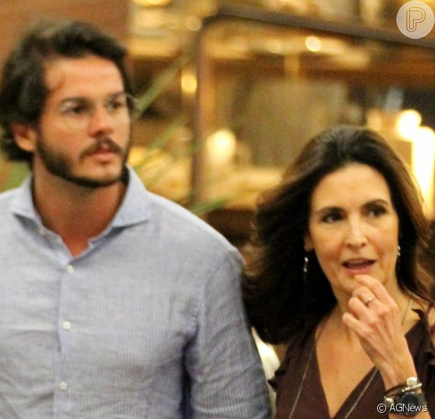 Fátima Bernardes e o namorado, Túlio Gadêlha, passaram réveillon juntos: 'Assim seja 2018. Amor'
