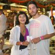 Juntos desde meados de 2017, Giullia Buscacio e Pedro Cantelmo não postam muitas fotos em seus perfis nas redes sociais