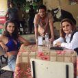 Vanessa (Fernanda Nizzato) ameaça Sophia (Marieta Severo): 'Ou me deixa rica, ou conto quem é a verdadeira assassina', na novela 'O Outro Lado do Paraíso