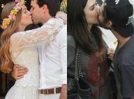 Beijo em dobro! Marina Ruy Barbosa e Tatá Werneck beijam pares em foto: 'Fofos'