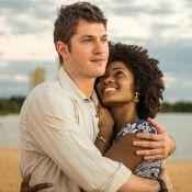Erika Januza e Caio Paduan, juntos em novela, negam namoro: 'Somos amigos'