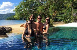 Marina Ruy Barbosa pede foto com Bruna e Neymar após posar com Tatá: '3 casais'