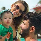 Gusttavo Lima e Andressa Suita curtem Ceará com o filho: 'De folga com papai'