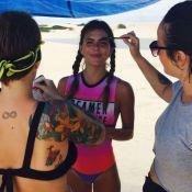 Mariana Goldfarb responde fã sobre Cauã Reymond: 'Ama minha sobrancelha'