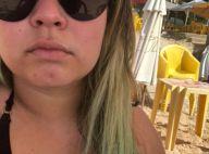 Marília Mendonça mostra cabelo verde e explica aos fãs: 'O cloro se encarregou'