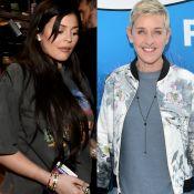 Kylie Jenner tem gestação confirmada por Ellen DeGeneres: 'Barriga de grávida'