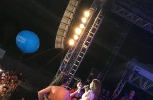Ivete Sangalo faz participação surpresa em show de Simone e Simaria. Veja vídeo!
