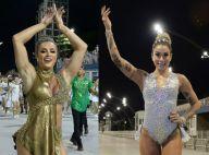 Carnaval: Juju Salimeni e Dani Bolina brilham em ensaio técnico de SP. Fotos!