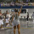Juju Salimeni e Dani Bolina brilham em primeiro ensaio técnico das escolas de samba de São Paulo, no Sambódromo do Anhembi, neste sábado, 6 de janeiro de 2018