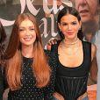 Bruna Marquezine e Marina Ruy Barbosa foram as convidadas do programa 'Fantástico' deste domingo, 7 de janeiro de 2018