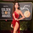'O problema é maior do que a cor do meu vestido', rebateu Blanca Blanco após críticas pelo look usado no Globo de Ouro