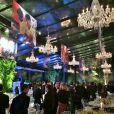 A decoração do evento de gala, realizado na Fundação Maria Luisa e Oscar Americano, no Morumbi, em São Paulo