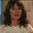 Na novela 'Tempo de Amar', indignada, Lucinda (Andreia Horta) tentará convencer o pai a deixá-la sair do quarto: 'Meu pai, deixa-me ir ao casamento, por favor! Eu imploro! Por favor! Você não pode fazer isso comigo'