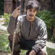 Tiago (Vínicius Redd), irmão de Amália, se tornou o 'crush' da web
