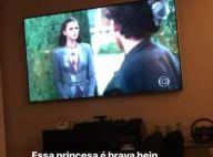 Neymar assiste estreia de novela e brinca com Bruna Marquezine: 'Princesa brava'