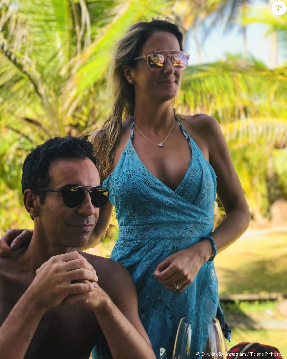 Apresentadora Ticiane Pinheiro completou o look com óculos Dior que custa  R  1.650 70c3304047