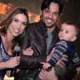 Também mãe de Pedro, de 3 anos, Patricia Abravanel é casada com o deputado Fabio Faria