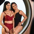 Simone e Simaria posam de lingerie para campanha da marca Plié nesta sexta-feira, dia 12 de janeiro de 2018