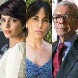 Adriana (Julia Dalavia) acusa Duda (Gloria Pires) de ter sido culpada pela morte de Natanael (Juca de Oliveira), na novela 'O Outro Lado do Paraíso'