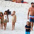 Cauã Reymond quer ter mais filhos em 2018